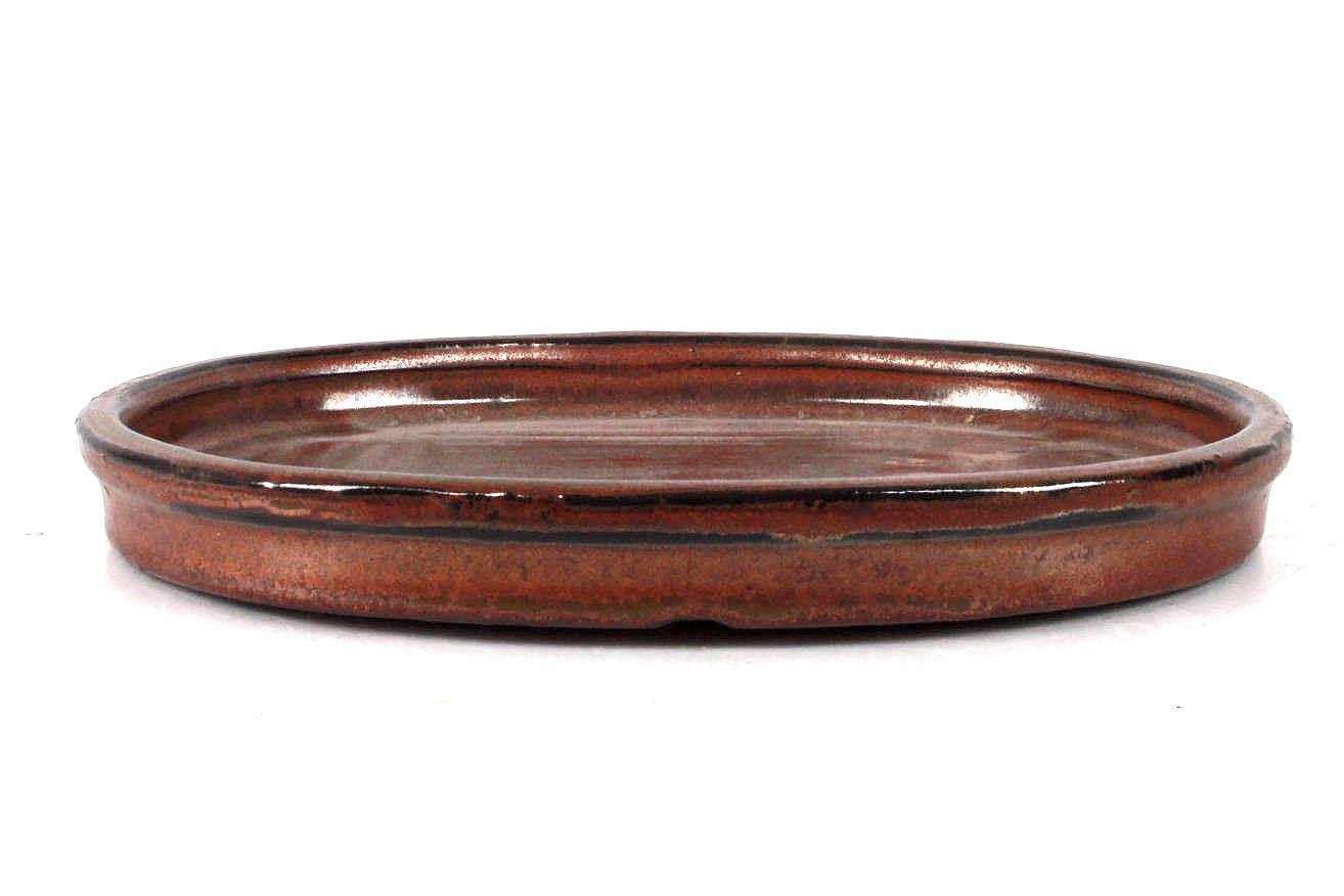 untersetzer 20x16x2 cm kupferbraun bei oyaki bonsai kaufen. Black Bedroom Furniture Sets. Home Design Ideas