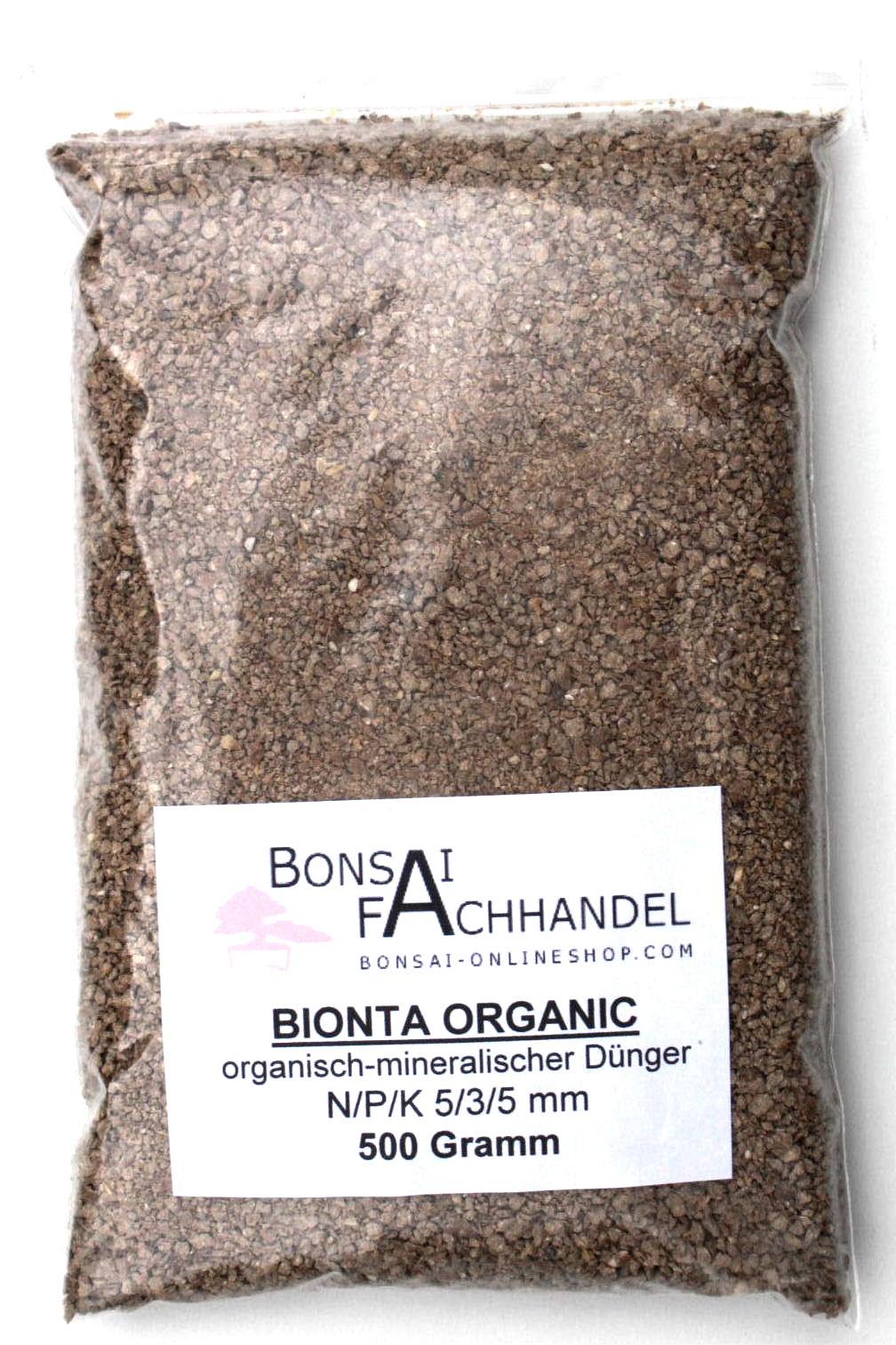 bionta organic universal d nger 500 gramm bei oyaki bonsai kaufen. Black Bedroom Furniture Sets. Home Design Ideas