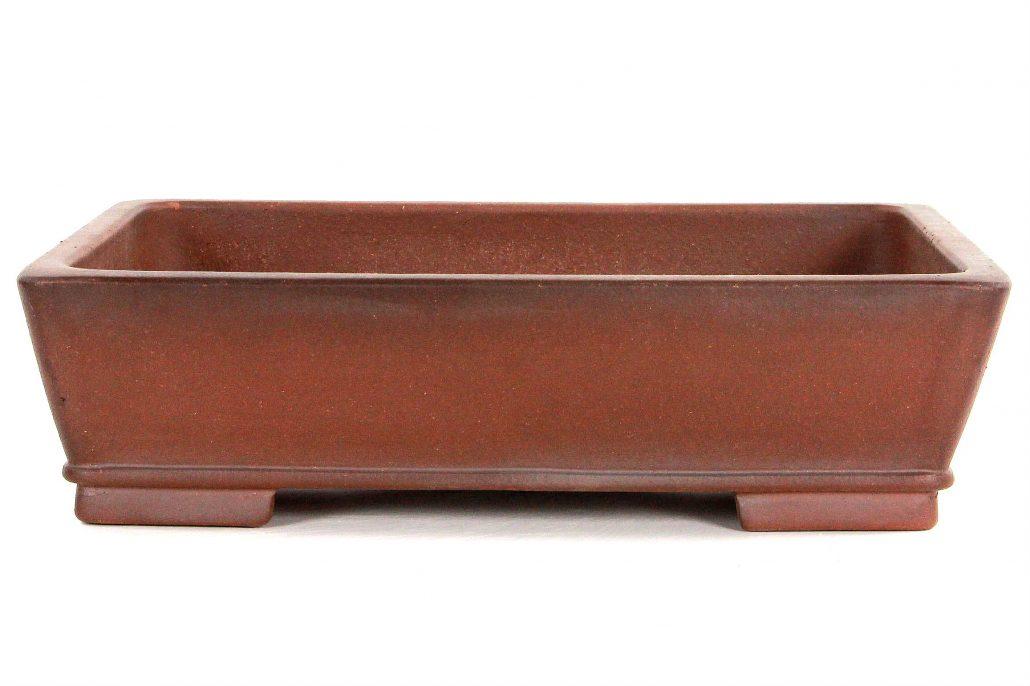bonsai schale 43x33x12 antik braun bei oyaki bonsai kaufen. Black Bedroom Furniture Sets. Home Design Ideas