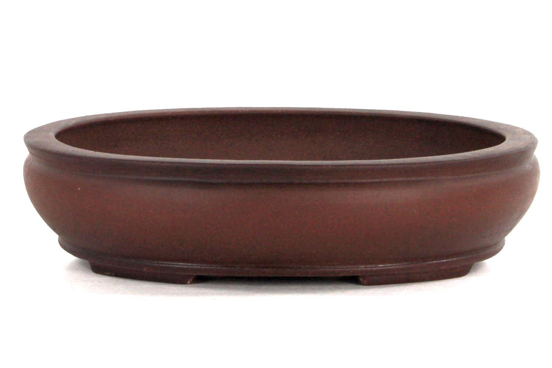Bonsai schale 30x25x7 antik braun bei oyaki bonsai kaufen for Bonsai versand