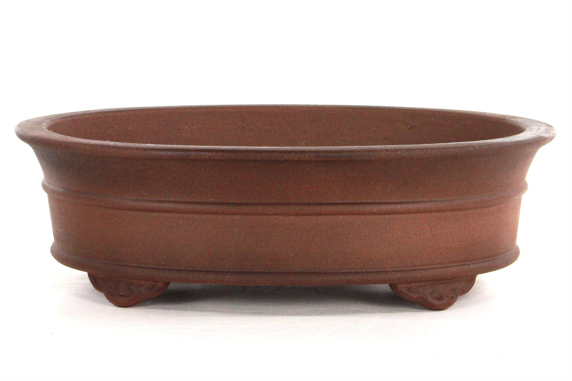 Bonsai schale 42x33x12 antik braun bei oyaki bonsai kaufen for Bonsai versand